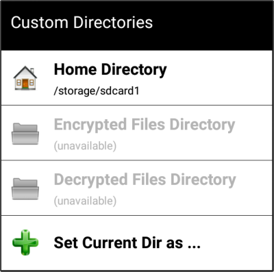 Secret Space Encryptor for Android - File Encryptor