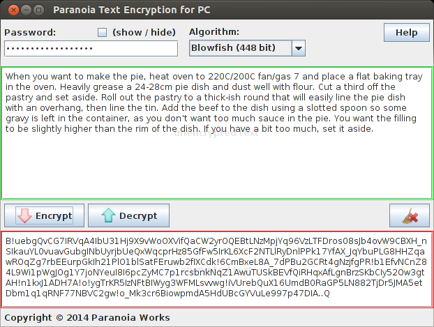 Text Encryption - Linux